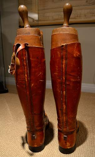 Canadian Officer's boots