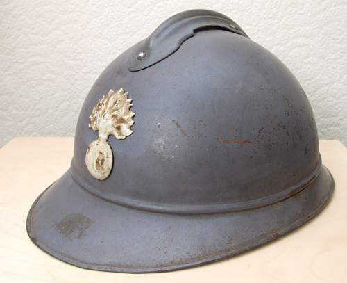 Another Adrian helmet from my collection.