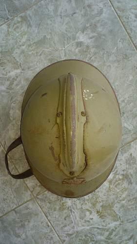 ULTRA Rare Greek WWI Adrian helmet..