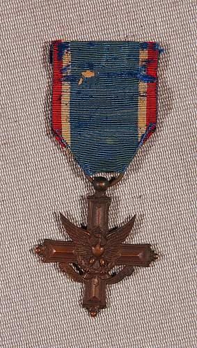 2nd. Lt. William F. Nice, DSC, SS, PH - USMC. 2nd. Div, 49th CO., 5th. Rgt. WWI