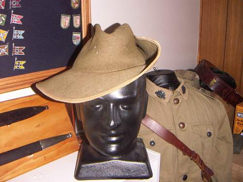 Click image for larger version.  Name:WW2 Australian Slouch hat Unmarked 1.jpg Views:298 Size:251.4 KB ID:744828