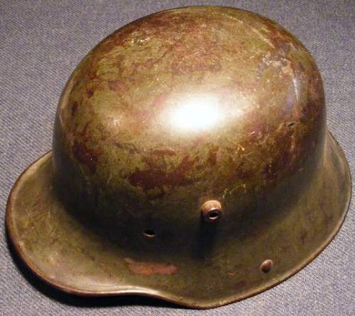 308th F.S.Bn. Help Please- M1916 Helmet