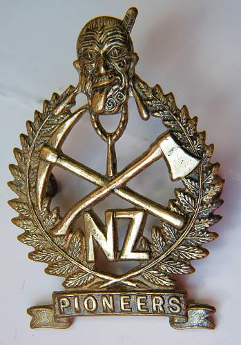 Click image for larger version.  Name:Maori pioneers bn cap badge 1.jpg Views:750 Size:226.3 KB ID:749731