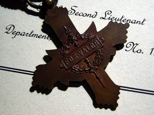 WWI Cased French DSC, Croix de Guerre, Victory Medal Group
