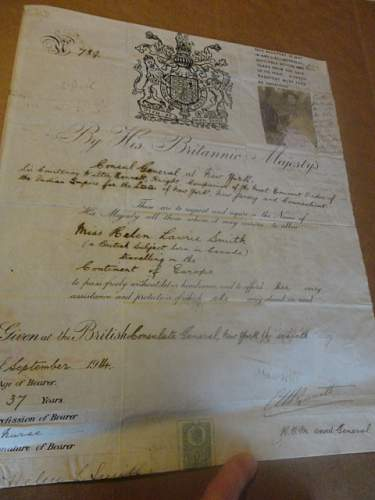 One of a Kind Canadian Group, US, Russia, UK CG Passport!!! Never seen one!! Take a look