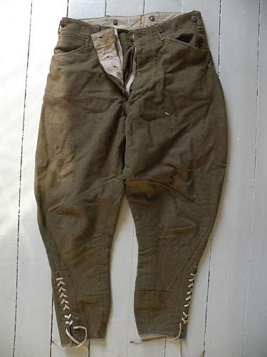 WW1 officers trousers?