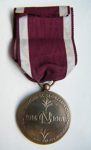 Medal of the national commitee of assistance and food suppy