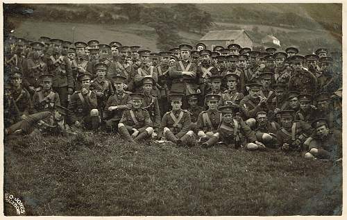 Rare photo's Mons at camp pre/early WWI