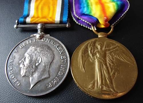 ww1 medal prefix letters