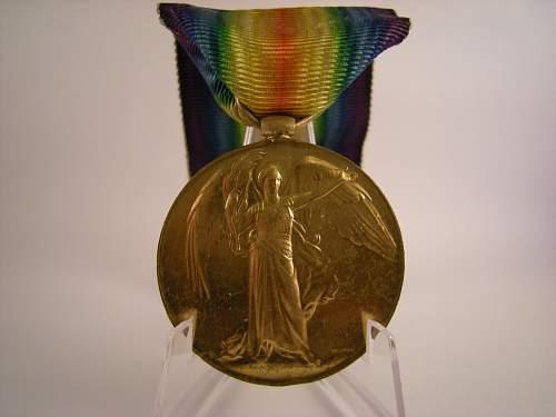 Click image for larger version.  Name:WW1 victory medal, Joseph Matthias, 10th battalion K.R.RIF.C. .jpg Views:13 Size:341.5 KB ID:776440