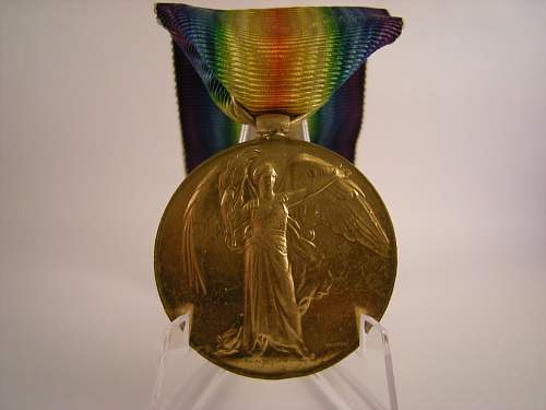 Great Grand fathers Victory medal