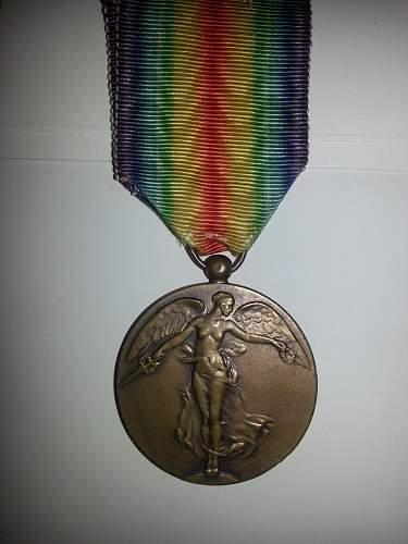 WW1 Belgian Victory Medal