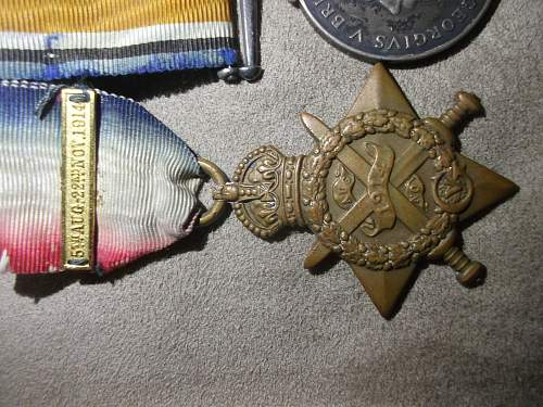 1914 Trio And Defence Medal Group