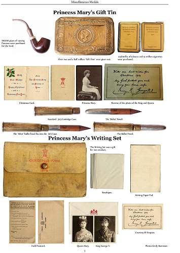 Click image for larger version.  Name:mary gift tin contents from great war medal collectors companion h williamson.jpg Views:406 Size:166.0 KB ID:787284