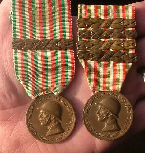 Italy War Medal 1915-1918
