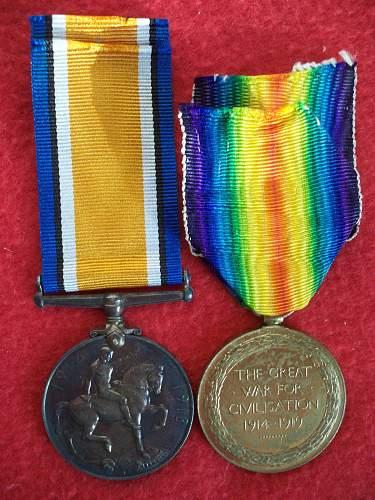 Colour Sjt & CQSM Robert Hughes 265687 2/RWF & 6/RWF
