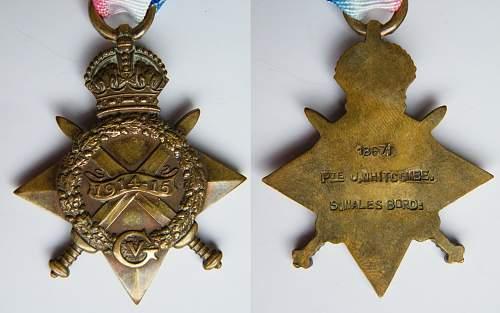 Joseph Whitcombe 2nd Bn.S. Wales Bords #18671