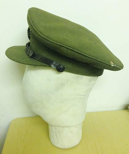 WW1 British Officers Peaked Cap Identification Authentic???