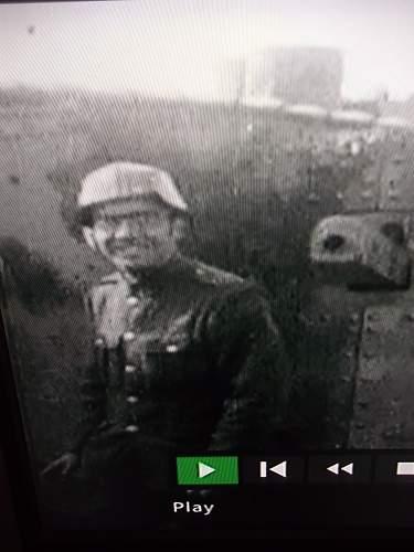 Unknown WW1 Tanker's Helmet?