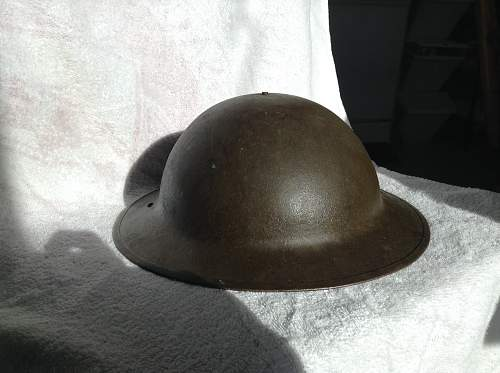 Hey guys is this a british or usa ww1 helmet?