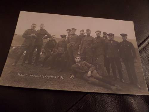 Few WW1 British Post cards
