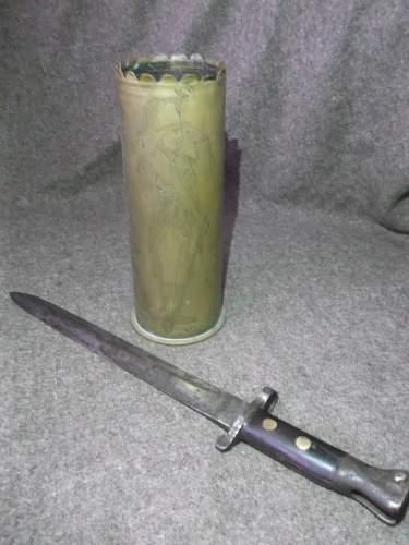 Pattern 1888 Bayonet Marked to Royal Marines
