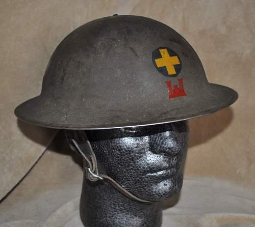 WWI 33rd Infantry Helmet