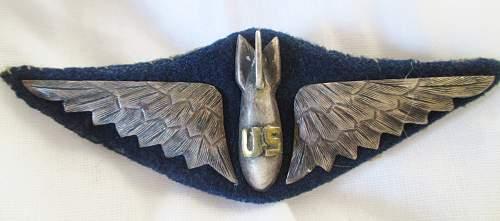 WW1 US Pilot wings?  Authentic?