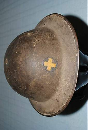 WWI US 33rd division helmet