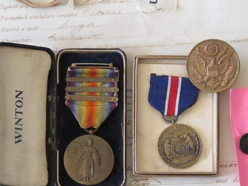 WW1 35th Infantry Division Vets Lot