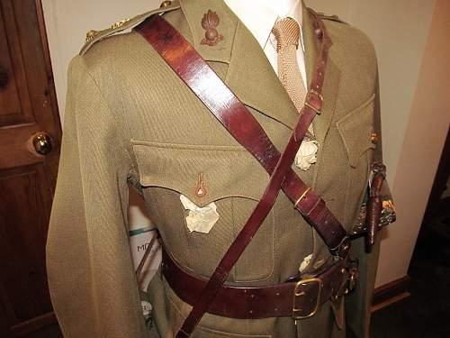 WW1 British officer mannequin