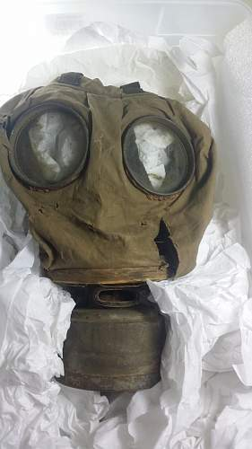 Navy Mouth Canister Mask, second version