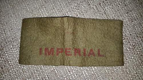 Imperial forces armband
