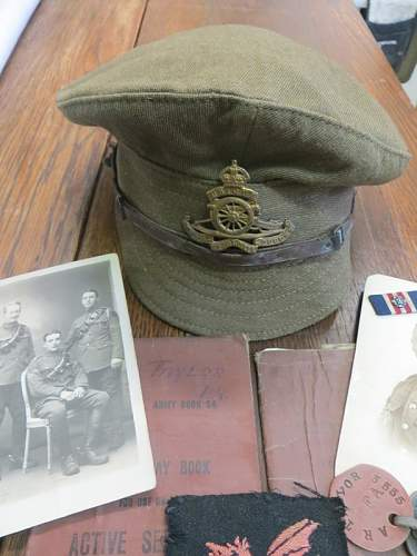 3555 Sgt A R Taylor MM and Bar 38th Welsh Div