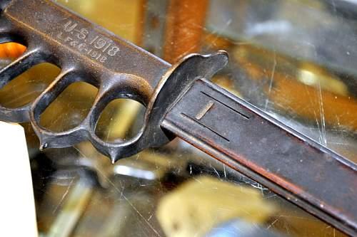 Knuckle Knife 1918 LF&C