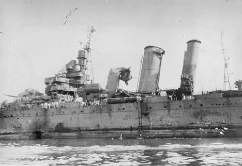Click image for larger version.  Name:HMAS_Australia_Kamikaze_damage_IWM_A_29381.jpg Views:40 Size:56.0 KB ID:831946