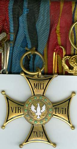 VIRTUTI MILITARY 4th Class (?) numered 508
