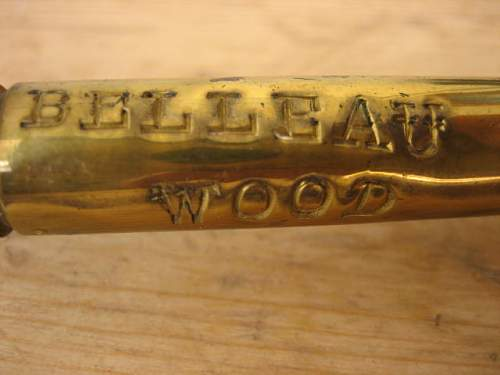 WWI Trench Art swagger Stick