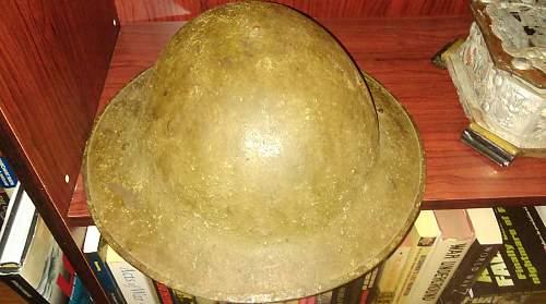 Click image for larger version.  Name:Helmet, Steel, MK1 1.jpg Views:38 Size:225.1 KB ID:838355