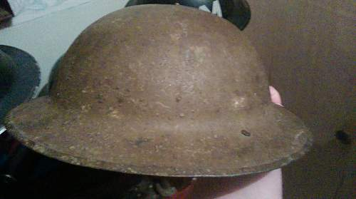 Click image for larger version.  Name:Helmet, Steel, MK1 8.jpg Views:41 Size:225.0 KB ID:838362