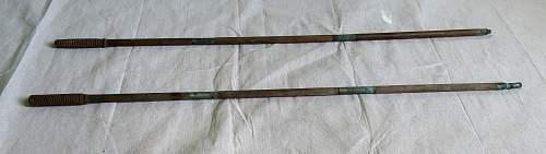 WW1 ramrod pair?