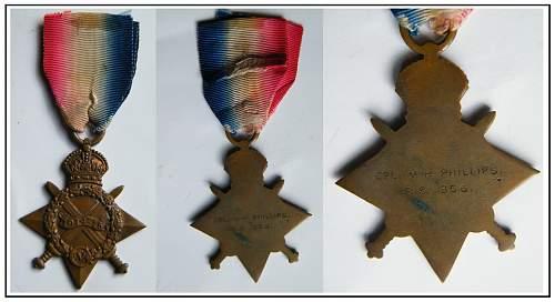 Self awarded 14/15 Star medal