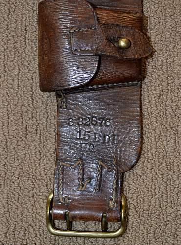 WW1 CEF 100 Round Bandolier