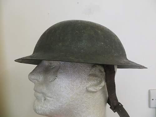 War Office Pattern Steel Helmet