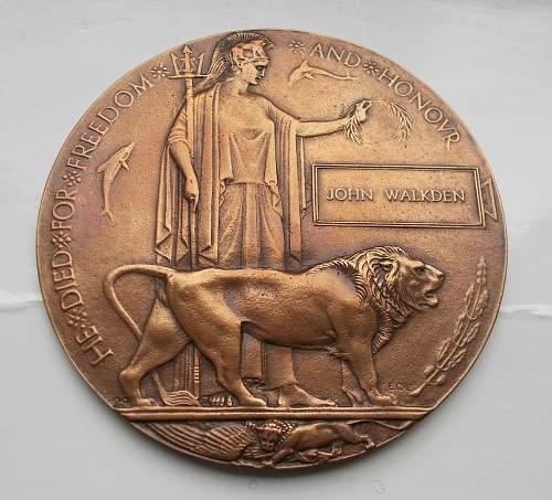 Click image for larger version.  Name:Walkden, John, memorial plaque.jpg Views:54 Size:252.3 KB ID:868140