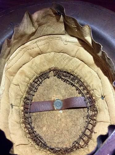 WW1 Great War Biitish Mark 1 Brodie Helmet