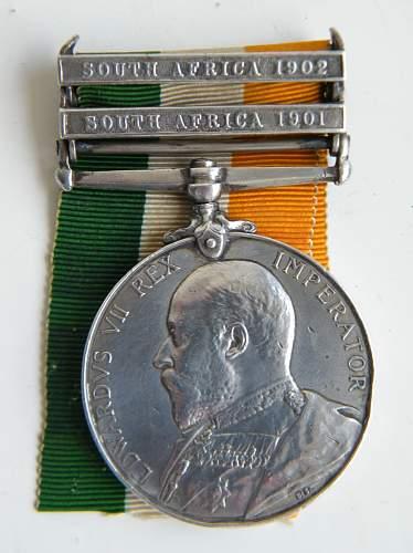 Click image for larger version.  Name:humphries G 1st rwf kings sa medal 1.jpg Views:403 Size:239.1 KB ID:873515