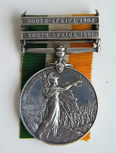 Click image for larger version.  Name:humphries G 1st rwf kings sa medal 2.jpg Views:348 Size:262.2 KB ID:873516