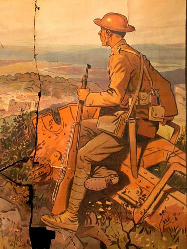French WWI Poster- St Mihiel