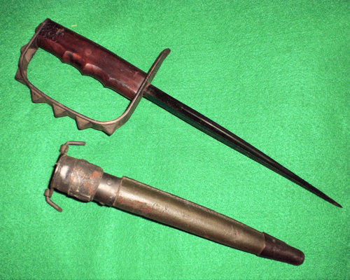QUEST:  Need advice: LF&C US M-1918 Mk 1 Trench Knife